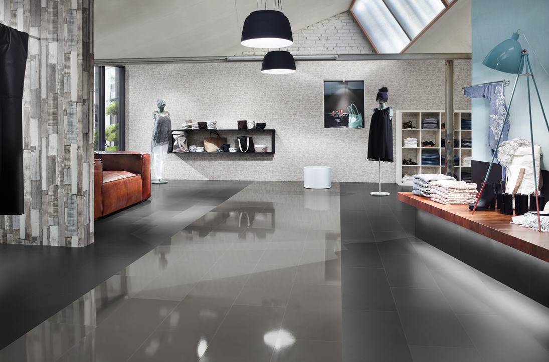 wineo Laminat 550 - Unicolor black