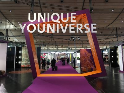 UNIQUE UNIVERSE - wineo auf der DOMOTEX 2108